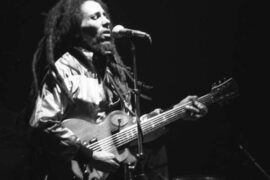 Bob Marley live in concert in Zurich, Switzerland, on May 30, 1980 at the Hallenstadium