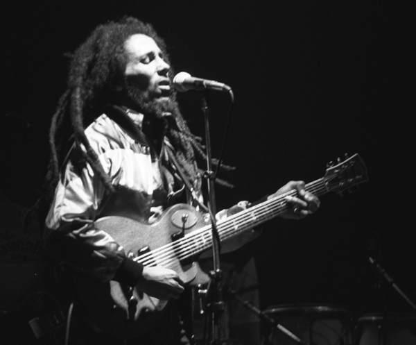 Bob Marley live in concert in Zurich, Switzerland, on May 30, 1980 at the Hallenstadium